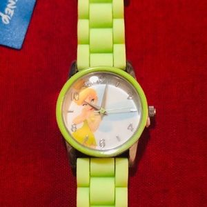Disney Tinkerbell Watch Green - New